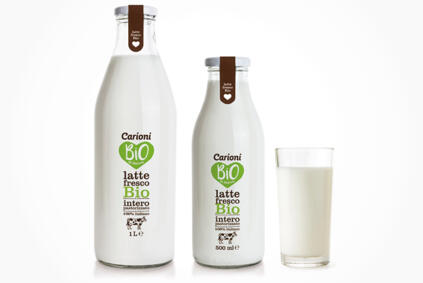 <span style='color:#95c11f'>Organic</span>  <br>Fresh Whole Milk